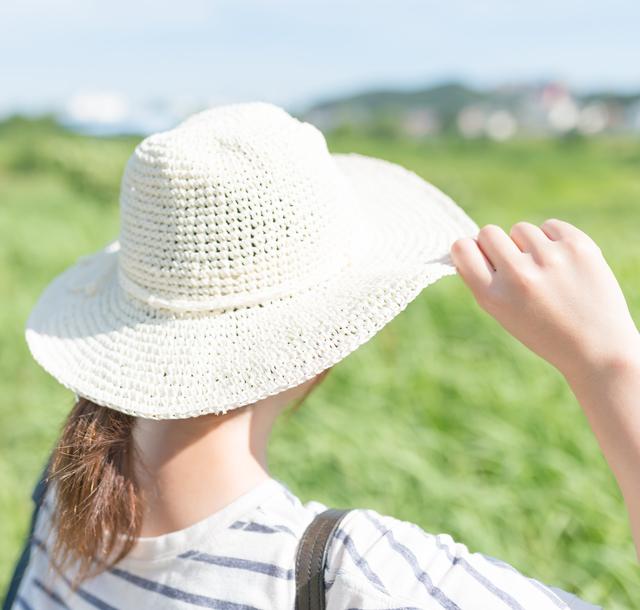 【女性のための育毛講座】UVカット帽子で頭皮の紫外線対策