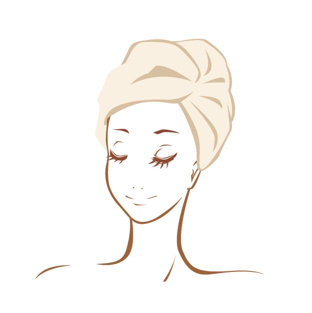 頭皮の乾燥対策に!5分でできる蒸しタオルパック
